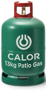 13kg patio gas bottle