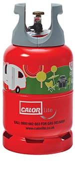 6kg calor lite gas bottle