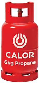 6kg propane gas bottle